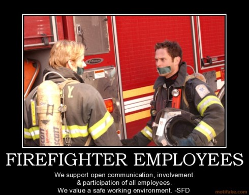 firefighter communication