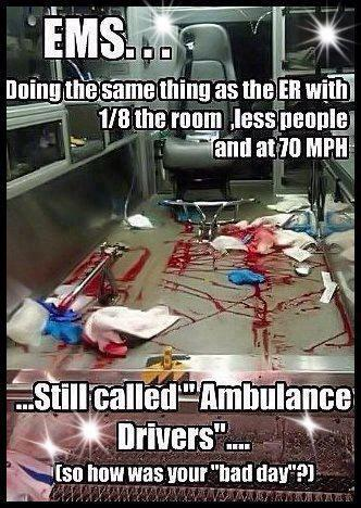 EMS ambulance drivers