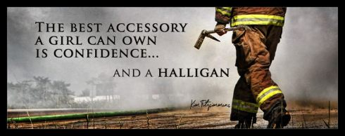 confidence and a halligan