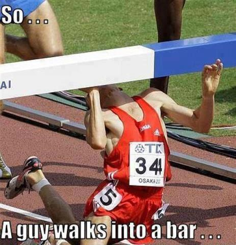 guy walks into a bar